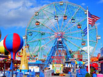 Denos Wonder Wheel Amusement Park på Coney Island