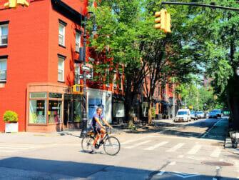 Manhattan i New York - Greenwich Village