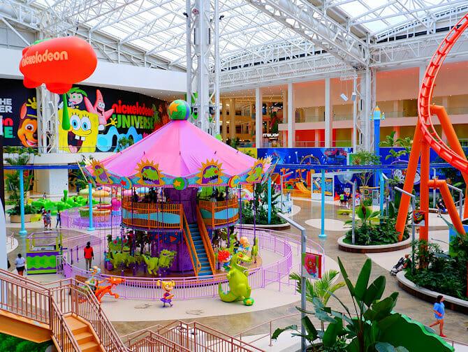 Nickelodeon Universe Amusement Park nært New York Tickets