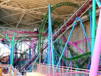Nickelodeon Universe Amusement Park nært New York Tickets - berg-og-dalbane