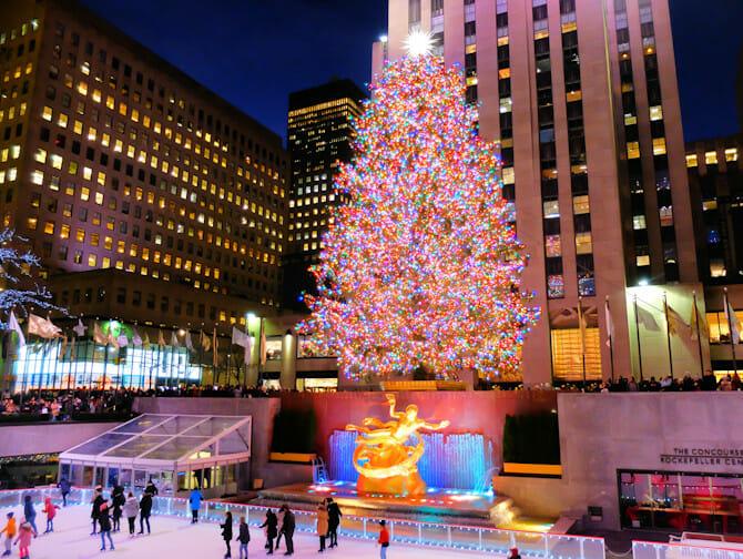 Rockefeller Center Christmas Tree Lighting Ceremony Treet